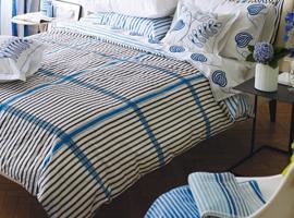 Designers Guild Spinelli Duvet Cover, Blue
